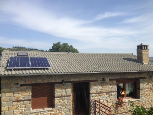 Photovoltaik - Inselanlagen Einbau